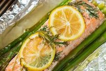 Fish and Seafood / Recipes using fish and other seafood in main dishes, salads, appetizers, etc.