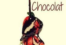 Chocolat / Festa in casa con gli amici, fine dell'estate. Per festeggiare l'inizio dell'autunno - di questa stagione così fredda e così calda allo stesso tempo - bisogna armarsi di un vestito a tema... magari marrone come il cioccolato! :)   A voi questo outfit, Chocolat :)
