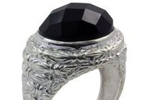 Black Onyx Jewellery / Onyx is one of the variety of chalcedony. It has almost every color . Most common Onyx is Black and White.  To buy Jewellery http://www.skydivine.com.au/black-onyx/