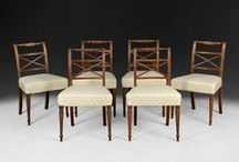 Chairs and Seating / Everything from a Library Armchair to a set of Dining Chairs!