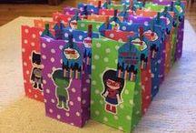 Lil G's 3rd birthday party #superhero