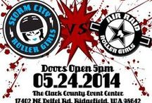 SCRG Bout Posters