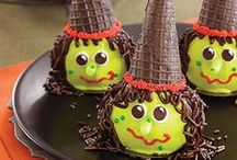 Witch Hat Cookies and Cupcakes