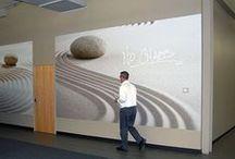 TacTac™ - Large Wall Graphics / TacTac™ pressure sensitive peel & stick material.