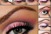 Naglar o makeup / olika nagellack sminkning