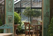 Att bo: Conservatory / Moodboard till uterummet/orangeriet. Material, detaljer och känsla.
