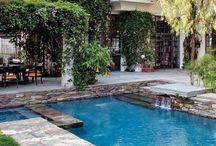 Att leva: Pool / Idéer till poolområdet.