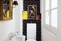 Woondromen - Toilet / Gemiddeld brengen we 43 uur per jaar door op het toilet. Je kunt er dus maar beter goed bij zitten! Laat je hier inspireren!