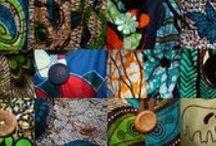 Africa / Abbigliamento e accessori realizzati in kanga africano.