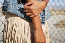 FRINGE BENEFITS / One of our fave trends for Spring 2015... it's all about the fringe!