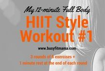HIIT Workouts / HIIT Workouts, Tips and Motivation to try at home or in the Gym