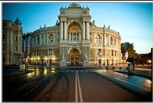 Travel: Odessa, Ukraine / Travel to Odessa, Ukraine. Travel to learn Russian as well.