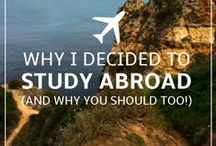 Tips for Studying Abroad! / Tips for Studying Abroad! It's worth it.