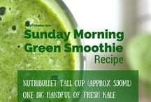 Healthy Juices and Smoothies / Healthy Smoothie and Juice Recipes.  Ideas and inspiration to help you to get your 5 a day!