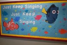 Music Bulletin Board Ideas / Sometimes you need a little inspiration for your next bulletin board. Gain some ideas here for elementary or middle school bulletin boards.