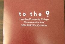 Communication Arts / Communication Arts Portfolio Show.  Each year Honolulu Community College proudly presents their senior projects at the annual showcase. / by Honolulu Community College