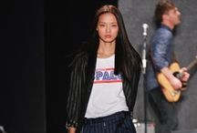 Rebecca Minkoff Fall 2013 / This fall, Rebecca Minkoff is embarking on a voyage to the future. Her Fall 2013 collection marries modern construction details with a new, sophisticated grunge attitude.  / by Covet Fashion - The Game