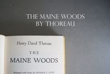 Books about the Maine Woods