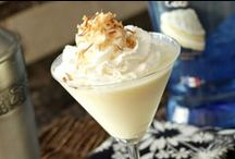 Alcoholic Drinks: Creamy Based / Drinks that are cream, or a non-dairy creamy substitute, based with some pep.