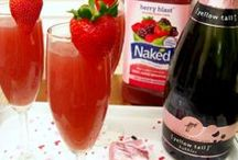 Alcoholic Drinks: High Society Edition / Drinks that involve wine, champagne, or other sparkling effects.