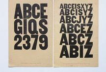 Type Specimens / You can say it with a letter
