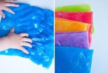 activity ideas for children / Busy bags and other ideas for small childrenn