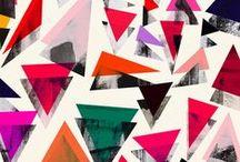 Patterns / Patrones / Patrones geométricos, coloristas, floreados...