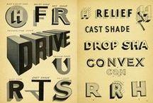 Typography / Tipografía / Tipografía, carteles tipográficos