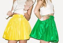 PARTYSKIRTS / Celebrating everyday! Bring champagne and be on time.