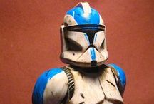 clone trooper / a cheap hasbro figure transformed into a more realistic weathered figure...