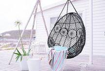 Garten / Balkon / Ein Zimmer im Grünen! Ob auf einem kleinen Balkon in der Stadt oder im eigenen Garten, hier gibt es die besten Ideen für draußen.