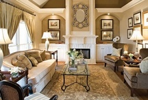"Interior design / ""Home is where the heart is."""