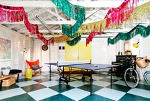Garage Parties / No need to rent out a space. Your garage is waiting for its makeover.
