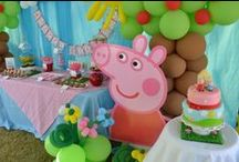 Peppa Pig Birthday Parties / If your little piggie wants to have a Peppa Pig birthday party, here is some inspiration and ideas!