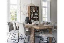Tafelen / Eettafels en eetkamerstoelen in alle soorten en maten. Sfeer- en inspiratiebeeld van de mooiste eethoeken.