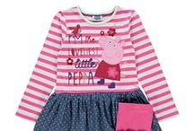 Peppa Fashion / Dresses, t-shirts to golden wellies, there are lots of fantastic clothes available for your little Peppa fans!