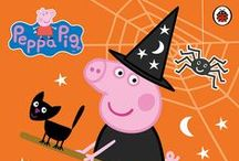 Halloween! / Now we aren't recommending scaring your children, but there are lots of trick-or-treats available this year for Peppa and George Pig fans!