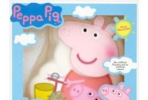 Peppa treats! / From multivitamins to homemade cakes, it seems Peppa is almost good enough to eat! We share our favourites in this board.