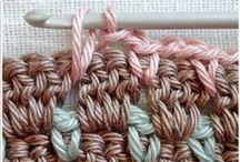 Crochet patterns / vzorník - háčkování