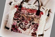 Dupla belterű romantikus kézitáska - Judy Majoros / Újrafelhasznált alapanyagokból kézzel készült egyedi farmertáska. megtekinthető még a www.facebook.com/judymajorosdesign oldalon. Köszönöm az érdeklődést! Handmade by Judy Majoros - Crochet handbag. Recycled bag. pink-white
