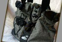 Cicás kézitáska - Judy Majoros / Újrafelhasznált alapanyagokból kézzel készült egyedi táska. Megtekinthető a www.facebook.com/judymajorosdesign oldalon. Köszönöm az érdeklődést! :)  Handmade by Judy Majoros- Wool cat handbag. Beaded handbag. Recycled handbag.