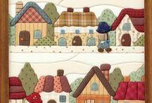 Quilting y Patchwork sin aguja / by Sylvia Gonzalez