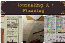 ↟ Journaling and Planning ↟