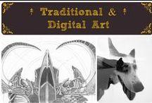 ↟ Traditional & Digital Art ↟