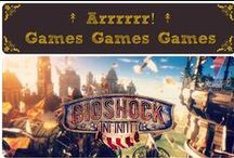 ↟ Arrrrrr! Games Games Games ↟ / Video games, Board Games, Geek Stuff :)