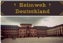 ↟ Heimweh ➳ Deutschland ↟ / Manchmal bekomme ich Heimweh...