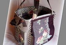 Lila vintage scrapbook táska - Judy Majoros / Újrafelhasznált alapanyagokból kézzel készített egyedi táska. megtekinthető még a www.facebook.com/judymajorosdesign oldalon. Köszönöm az érdeklődést! :) Handmade by Judy Majoros - Purple butterfly vintage scrapbooking tote-bag. Recycled bag. Materials:corduroy-cordura-rubber strap-velcro-lace-button-bead-leather-polka dots silk...