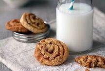 Kekse / Cookies / Chocolate Chip Cookies, gefüllte Kekse, Weihnachtsplätzchen - hier gibt es die leckersten Keksrezepte