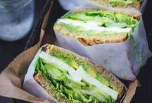Belegte Brote / Sandwiches / Ob Sandwich, Stulle, Toast oder belegtes Brot: Hauptsache, ordentlich viel drauf!