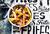 Pommes / Chips / Ob klassische Pommes Frites, Fish & Chips oder gesunde Süßkartoffel Fritten - immer das perfekte Soulfood!